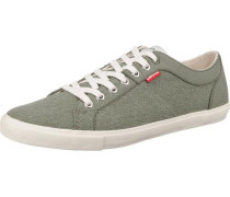 Woods Sneakers Low oliv / weiß
