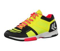 Handballschuhe 'Aerocharge HB 220 60402-5279' gelb / mischfarben / orange / schwarz