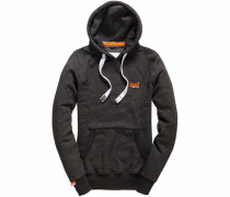 Kapuzensweatshirt »Orange Label Hood« schwarz