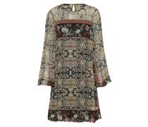 Kleid 'Cidaira' ecru / schwarz