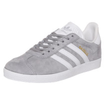 Sneaker 'Gazelle' grau / weiß