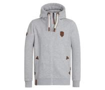 Zipped Hoody 'Schwarzkopf II' grau