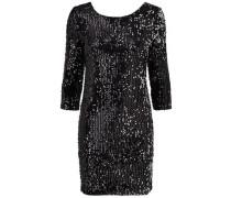 Kleid Langärmeliges schwarz