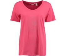 VEE Neck T-Shirt pink