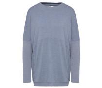 Sweatshirt 'adoba' blau