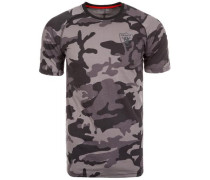 NFL NTC Raglan Oakland Raiders T-Shirt Herren grau