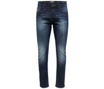 Slim Fit Jeans 'Weft' blue denim