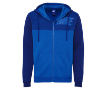 Sportlicher Hoodie dunkelblau