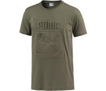 T-Shirt Herren oliv