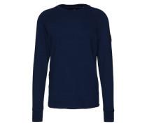 Sweatshirt 'Powel raglan r sw l/s' blau