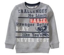 Sweatshirt für Jungen grau