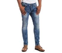 "Jeans »TaylorTZ ""3821 loom wash""« blau"