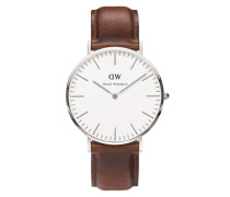 Uhr 'Classic Collection St. Mawes' braun / silber