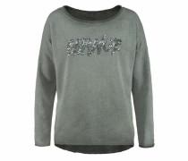 'Anna Justper' Sweater silbergrau