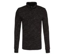 Sweater 'Xauri ezra sw l/s' schwarz / weiß
