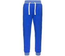 Sweathose 'Frode' blau / weiß
