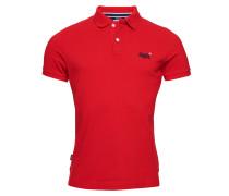 Hemd rot / blau