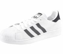 Sneaker 'Superstar' schwarz / weiß