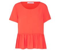 Bluse 'ck4269' orangerot