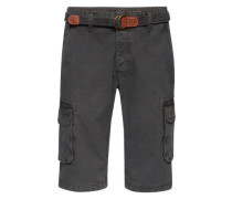 Shorts 'cargo Belt' anthrazit