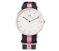 Uhr 'Classic Collection - Winchester (Gehäuse: 36mm)' blau / pink / rosé