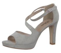 Klassische Sandaletten grau