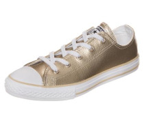 Chuck Taylor All Star OX Sneaker Kinder gold
