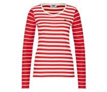 Shirt 'j267' rot / weiß