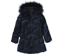 Wintermantel Nitmelia für Mädchen dunkelblau