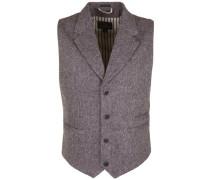 Weste 'wool Tweed Naps' braunmeliert