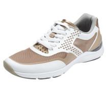 Sneaker nude / weiß