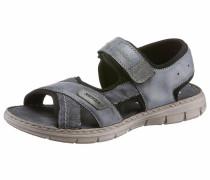 Sandale taubenblau / taupe / schwarz