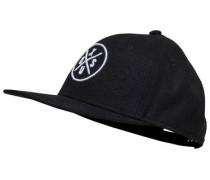 Bedruckte Cap schwarz