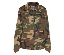 Camouflage Jacke khaki