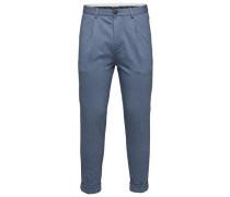 Cropped -Hose blau