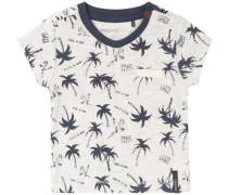T-shirt 'Elmont' elfenbein / marine