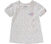 Baby T-Shirt für Mädchen elfenbein / blau / pastellorange / rosa / weiß