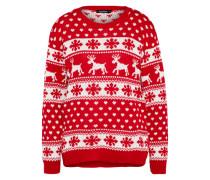 Pullover 'Hollie Reindeers And Snowflake Christmas'