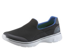 Sneaker 'Go Walk 4 Air Mesh Slip On' schwarz