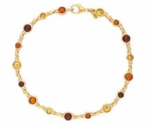 Armband gold / orange