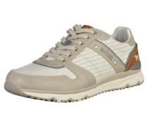 Sneaker beige / weiß