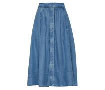 Midi-Rock in Jeans-Optik 'Palma' blau