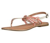 Sandalen lachs / weiß