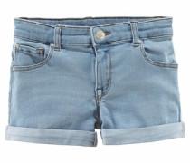 Jeansshorts 5-Pocket-Modell blau