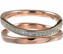 Ring-Set 'Sensitive Dancer' rosegold / silber