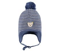 Mütze blau / grau