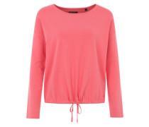 Pullover mit Tunnelzug-Saum koralle / pink