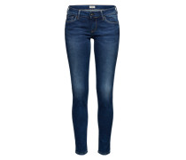 'Soho' Skinny Jeans blue denim