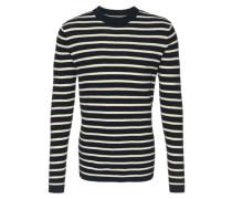 Pullover im Streifen-Look blau / weiß