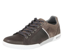Sneaker 'Coltrane' dunkelbeige / dunkelgrau